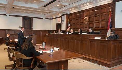 A court case