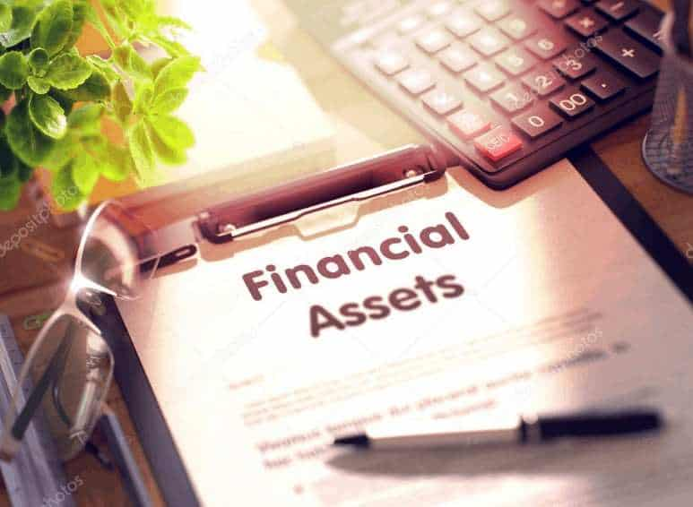 Financial assets example