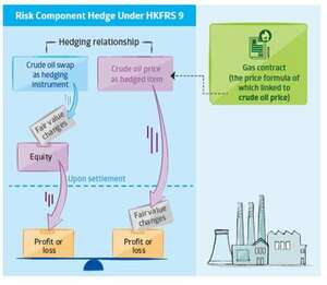 Hedging relation ship hedging instrument and hedged item