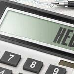 Credit risk on the hedging instrument