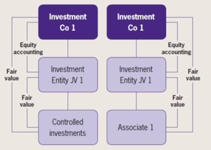 investors of investment entity associates or joint ventures