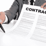 Changes in contracted transaction price under IFRS 15
