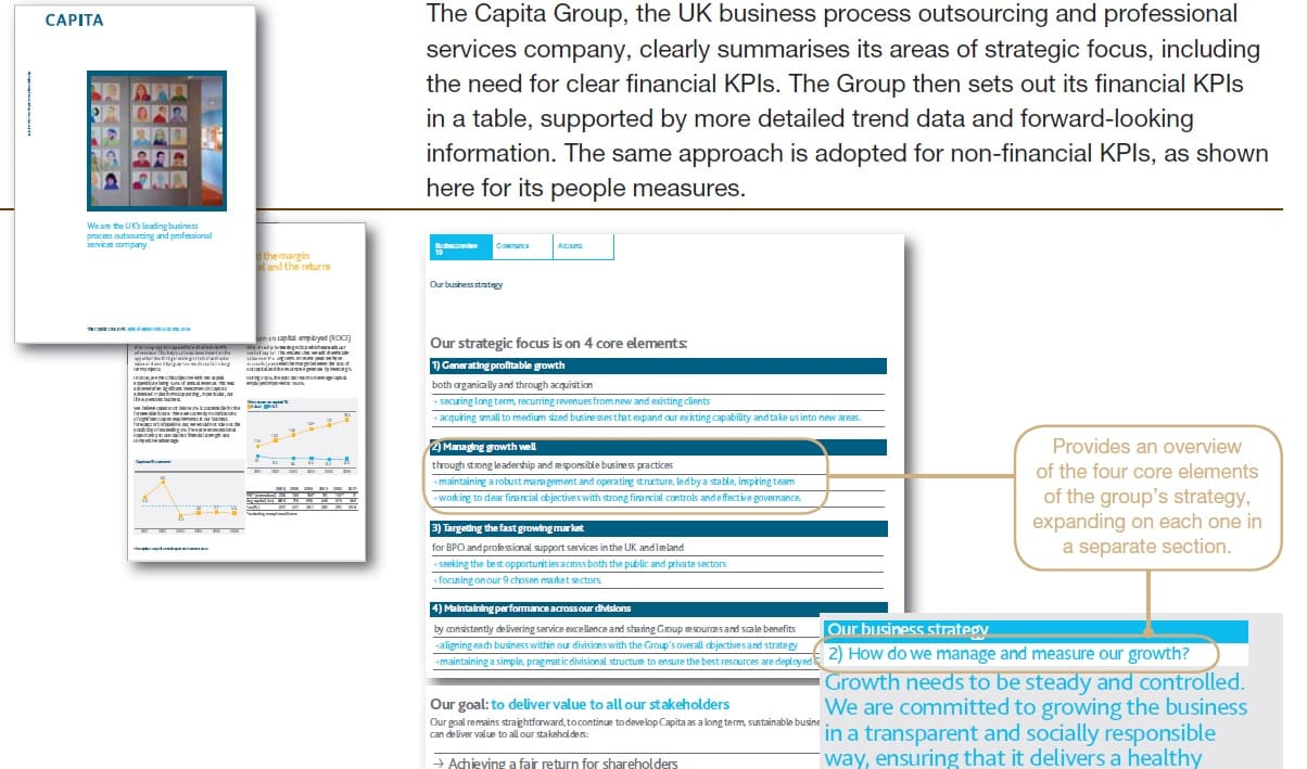 Narrative reporting,Non-financial reporting,Non-financial information in progress,Non-financial reporting examples,Key Performance Indicators