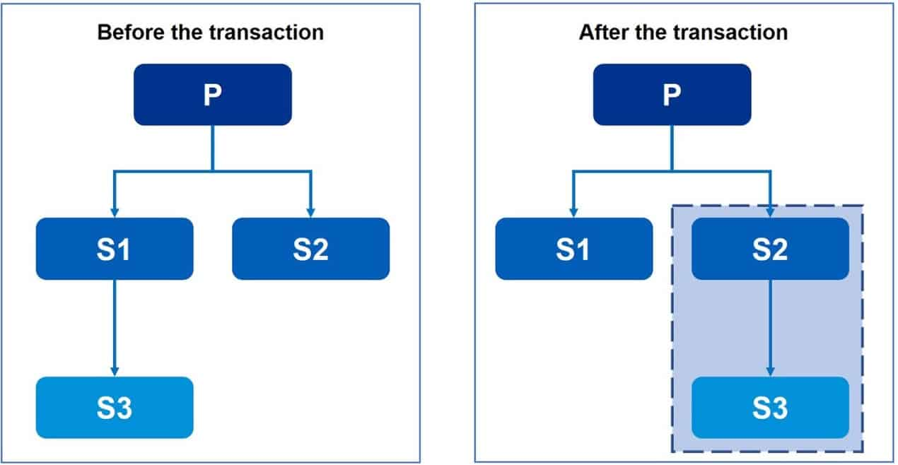 Common control transactions v Newco formation